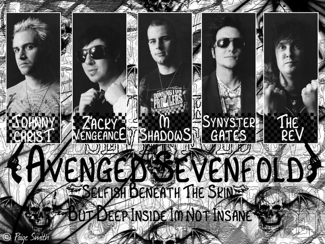 AVENGED SEVENFOLD | English Department Students