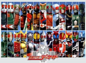 Kamen Riders over a decade!!